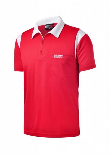 ONE80 - Poloshirts - Rot/Weiß