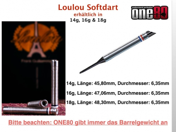 ONE80 - LOULOU - Softdart