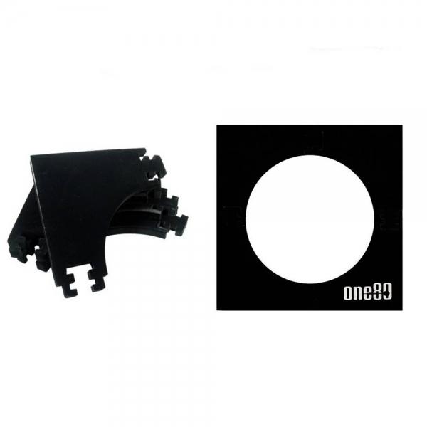 ONE80 - Surround mehrteilig viereckig - Schwarz