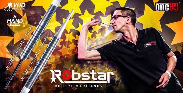 """Robert Marijanovic """"Robstar"""" - Softdart"""